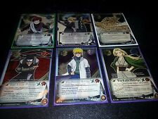 Lot of 25 Naruto Cards CCG All Super rares No Duplicates - Fast Ship!