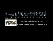1/72 Caesar Miniatures   059 Modern French Army & Chinese PLA toy soldiers