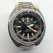 Certina DS 2 Super PH 1000 Rare Vintage Diver Automatic Watch Uhr Montre