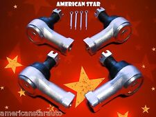 4 American Star Yamaha YFM35X Wolverine 350 06-09 Replacement Tie Rod Ends