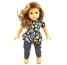 2016 Handmade fashion clothes dress for 18inch American girl doll party b99