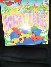 Chad Valley Hungry Frog game easy to play, press lever, frog leap & catch balls