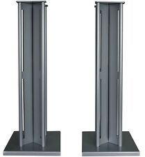 Partington Ansa 60 Speaker Stands (Pair) - Silver RRP £179.95