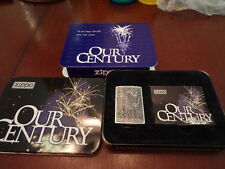 OUR CENTURY LAST ZIPPO OF 20TH CENTURY 1999 ZIPPO LIGHTER MINT LIMITED EDITION