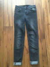 Rihanna for River Island jeans size XS/Xsmall (US2/EU34/UK6) grey black