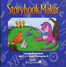 Storybook Maker PC MAC CD kids word processor, create story, dragons animals etc