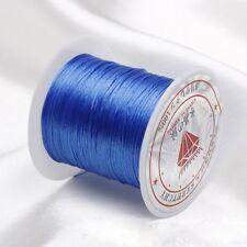 Rollo elástico Hilo Hilado Cable para Abalorios granos joyería Collar