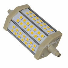 2 x J118 LED Replacement Security Pir Flood Light Bulb R7s LED 118mm Warm White