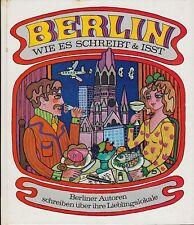 Berlino come si scrive & mangia-autori di Berlino sulle loro preferiti locale