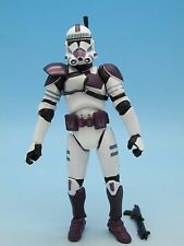 Star Wars Clone Trooper - Purple (Saga Mace Windu's Attack Battalion) 3.75""