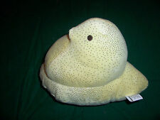 Peeps Yellow Chicken Stuffed Animal Toy Easter Yellow with Silver Speckles