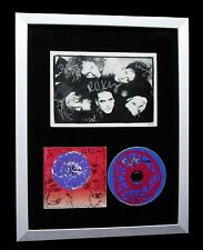 THE CURE+ROBERT SMITH+SIGNED+FRAMED+WISH+FRIDAY=100% AUTHENTIC+FAST GLOBAL SHIP