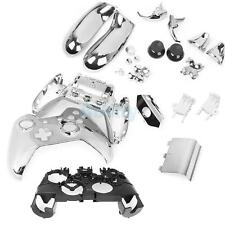 Chrome Silver Full Housing Shell Case Parts for Xbox One Wireless Controller