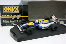 Onyx 1/43 - F1 Williams Renault FW14 Patrese
