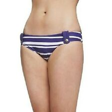John Lewis Blue Stripe Bikini Bottoms - UK 8 - RRP £15 - *NEW*