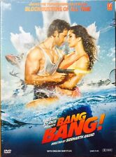 Bang Bang - Hrithik Roshan, Katrina Kaif - Hindi Movie DVD Region Free Eng Subti