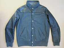 Undercover Men's Wool & Leather Bomber / Varsity Jacket *New* Size 4 (UK L)