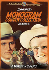 Monogram Cowboy Collection Volume 6 - Starring Jimmy Wakely,New DVD, Jimmy Wakel