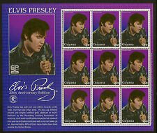 ELVIS PRESLEY: 2002 Guyana miniature sheet SG MS  6335 unmounted mint