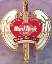 Hard Rock Cafe OTTAWA CANADA 2001 Valentine's Day PIN Heart - HRC Catalog #7237