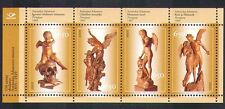 Estonia 2005 Adamson/Artist/Statues/Angels/Skull/Carving/Art/Craft 4v m/s n38221