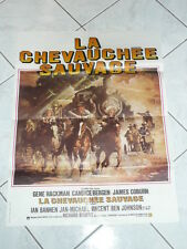 AFFICHE - LA CHEVAUCHEE SAUVAGE - JAMES COBURN 1975