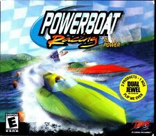 2 PC Games: Powerboat Racing   Whiplash NEW
