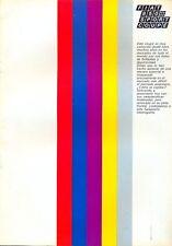 FIAT 850 SPORT COUPE SERIE 2 mercato spagnolo brochure originale delle Vendite di colore
