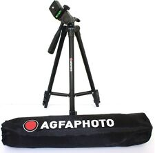 "AGFAPHOTO 50"" Pro Tripod With Case For Panasonic HDC-HS80K HDC-TM80K"