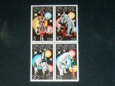 DDR 1978 Viererblock 2364 - 2367 postfrisch Zusammendruck ** Zirkus