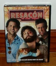 RESACON EN LAS VEGAS-THE HANGOVER-DVD-NUEVO-PRECINTADO-NEW-SEALED-COMEDIA