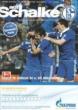 Schalker Kreisel + 09.04.2011 + FC Schalke 04 vs. VfL Wolfsburg + Programm RAUL