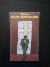GEORGE SIMENON  MAIGRET SOTTO INCHIESTA BLISTERATO