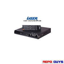 Laser Dvd Player Composite & Usb Playback Rca Remote Control Slim DivX