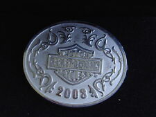 MAKE OFFER.... 2003 HARLEY NEW 100TH STERLING SILVER PHASE 4 PIN W/ JEWLERY CASE