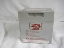 Power Wheels Harley Battery 12 volt Grey 12V Gray Genuine Fisher Price
