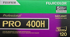 FUJI PRO 400 H  Rollfilm 120  5er Pack MHD/expiry date 01/2018