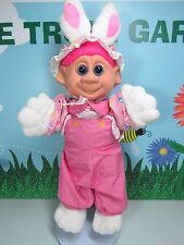"EASTER BUNNY / RABBIT  - 12"" Soft Troll Doll - ABC DISTRIBUTING"