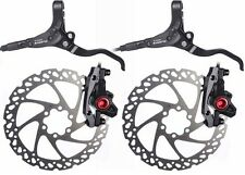 Pair Clarks Hydraulic Disc Brake Brakes MTB Bicycle Bike Incl 160mm Rotors
