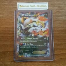 MINT/NM White Kyurem EX Holo/Shiny, 103/113, Pokemon Card, Legendary Treasures