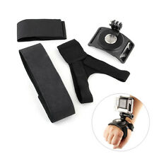 3in1 360° Rotary Elastic Glove Mount Wrist Leg Strap for GoPro Hero 2 3 4 Camera