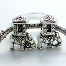 thai elephant  Bead Fit European Charm Bracelet fr18