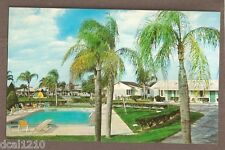 VINTAGE POSTCARD UNUSED TOWER VIEW MOTEL LAKE WALES FLORIDA