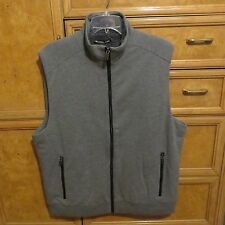 Men's Michael Kors cotton warn cozy lining vest size XL gray brand new NWT $150