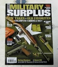 No Label Inside MILITARY SURPLUS Magazine Fall 2016 LUGER Redesign HISTORY Snipe