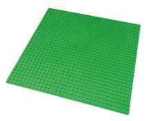 "LEGO Compatible Green Baseplate (10x10"") 32x32 Studs New Base Plate #3811"