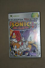 SONIC MEGA COLLECTION PLUS XBOX PLATINUM HITS COMPLETE 40121*