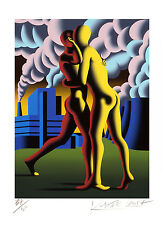 Mark Kostabi - The third secret - handsigniert, nummeriert und datiert