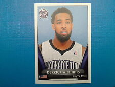 2014-15 Panini NBA Stickers Collection N.390 Derrick Williams Sacramento Kings