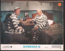 Superman II (2) Original Lobby Card #1 Lex Luthor 1980 Christopher Reeve